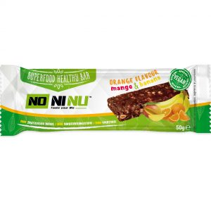 Superfood Healthy Bar - Orange Flavour Mango & Banana - NoNiNu
